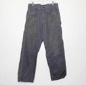 CARHARTT Mens Loose Original Fit Gray Pants